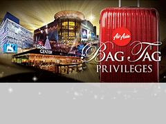 SB Free 5kg baggage voucher - Tourist lounge Siam Paragon
