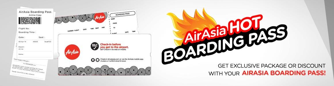 Hot Boarding Pass
