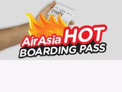 AirAsia Hot Boarding Pass