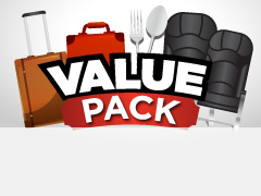 More convenience & savings with Value Pack