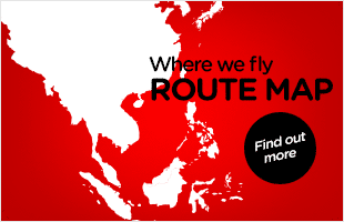 AirAsia Route Map