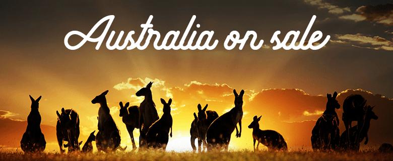 Australia on sale