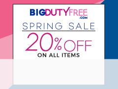 SB April Spring BIG Duty Free