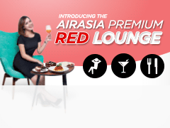 SB AirAsia Premium Red Lounge