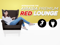 AirAsia Premium Red Lounge
