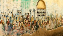 Book cheapest flights to Jeddah and find out  the Islamic and Arabian graffiti