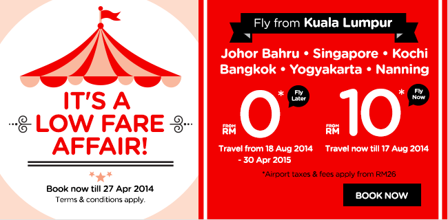 Fly Now Or Fly Later Always The Lowest Fares With Airasia
