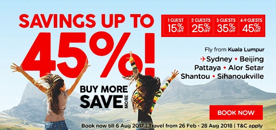 Save More When You Buy More with Airasia!