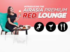 SB AirAsia Premium Red Lounge