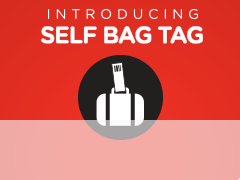 SB Self Bag Tag