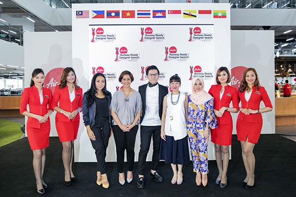 แอร์เอเชีย เฟ้นหาสุดยอดดีไซเนอร์ ปีที่ 3 รายการ AirAsia Runway Ready Designer Search 2017