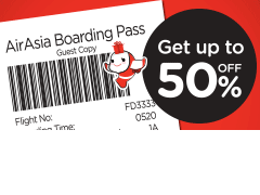 sb - boarding pass 50%