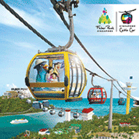 AirAisa boarding pass| Discount at Singapore Cable Car Sky Network up to 10% OFF