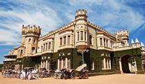 Book cheapest flights to Bangalore and visit Bangalore Palace