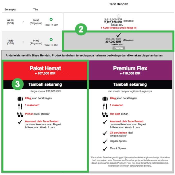 Cara Booking Paket Hemat