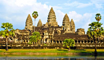 Fly to Siem Reap with cheapest airfare and visit Angkor Wat