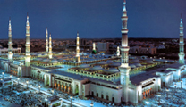 Book flights online to Jeddah and visit the Prophet's Mosque