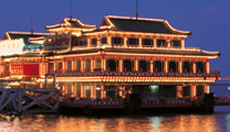 Book flights online to Macau and experiemce Floating Casino