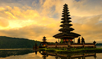 Book flights online to Bali