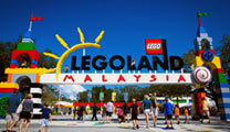 Fly to Johor Bahru with cheapest airfare and visit Legoland