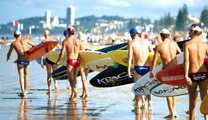 Book flights online to Gold Coast and experience the Surfers Paradise