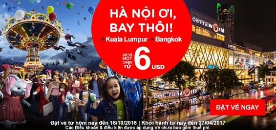 Hà Nội bay Singapore và Malaysia trọn gói 84 USD
