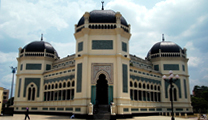 Book cheapest flights to Medan and visit Masjid Raya