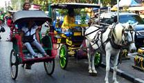 Travel to Yogyakarta with cheapest airfare and experience Malioboro