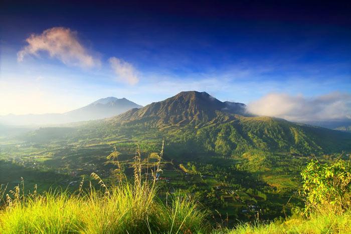 巴厘岛金塔马尼火山