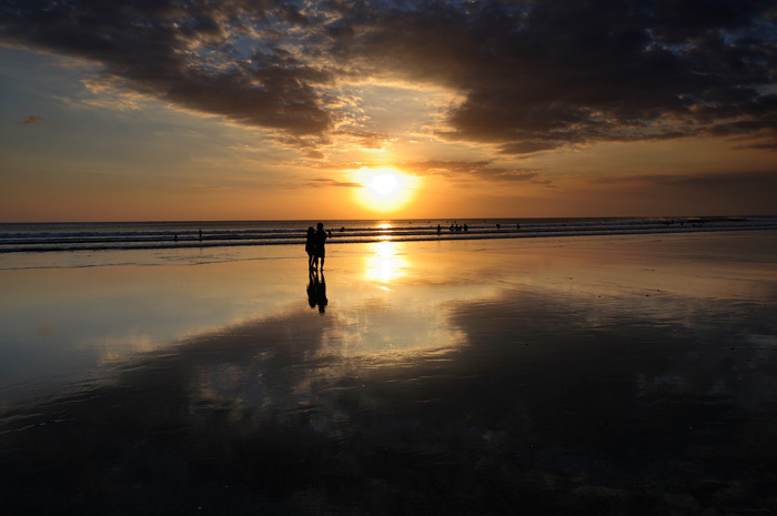 巴厘岛库塔海滩