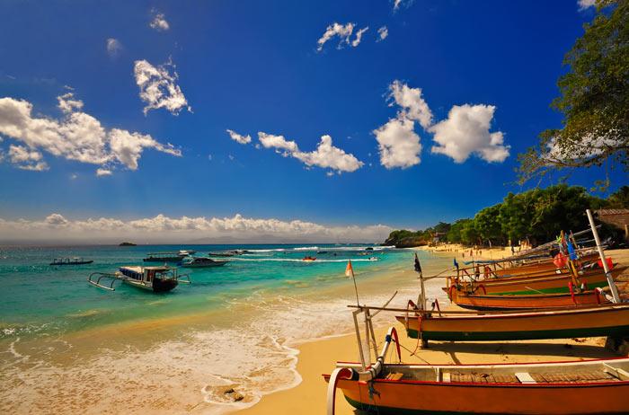 巴厘岛沙努尔海滩