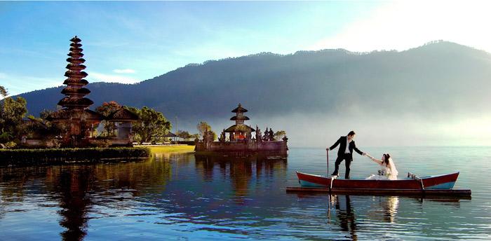 巴厘岛水神庙