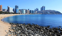 Fly to Busan with cheapest airfare and visit Haeundae Beach