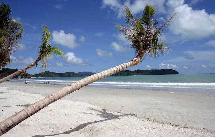 兰卡威珍南海滩