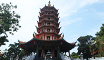 Travel to Semarang with cheapest airfare and visit Vihara Buddhagaya Watugong