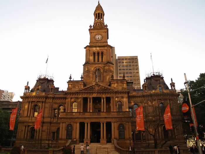 悉尼市政厅  Sydney Town Hall
