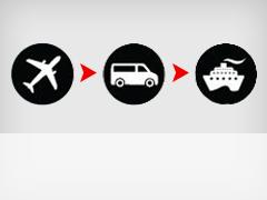 岛屿车船联运和城市接驳