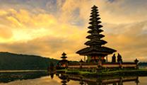 Book flights online to Bali