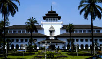 Book cheapest flights to Bandung and visit Colonial Buildings