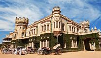 Book cheapest flights to Bangalore and visit Bangalore Palace