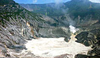 Travel to Bandung with cheapest airfare and visit Mount Tangkuban Parahu, Kawah Putih and Ciater