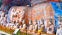 Book cheap flights to Chongqing and find out the Dazu Rock Carvings