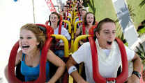 Book cheapest flights to Gold Coast and experience the Theme Parks