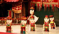 Travel to Hanoi with cheapest airfare and enjoy Water Puppet