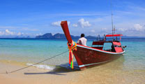 Travel to Trang with cheapest airfare and experience the beautiful beach