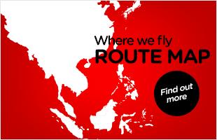 AirAsia Route Map