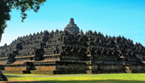 Book cheapest flights to Yogyakarta and visit Borobudur