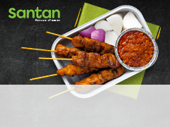 SB Santan Chicken Satay