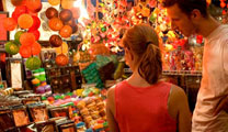 Book flights online to Bangkok and experience the night markets
