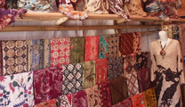 Book flights online to Surabaya and find out their batik